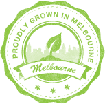 grown in melbourne badge